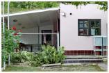 Отдельный домик с удобствами трехместный