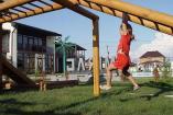 Крым Знаменское  гостиница  детская площадка