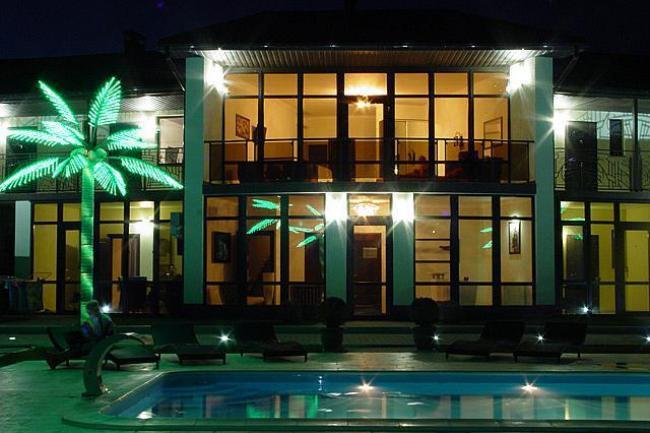 Крым Знаменское  гостиница  бассейн