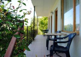 Лесной дворик - стандарты 2 этаж зона отдыха